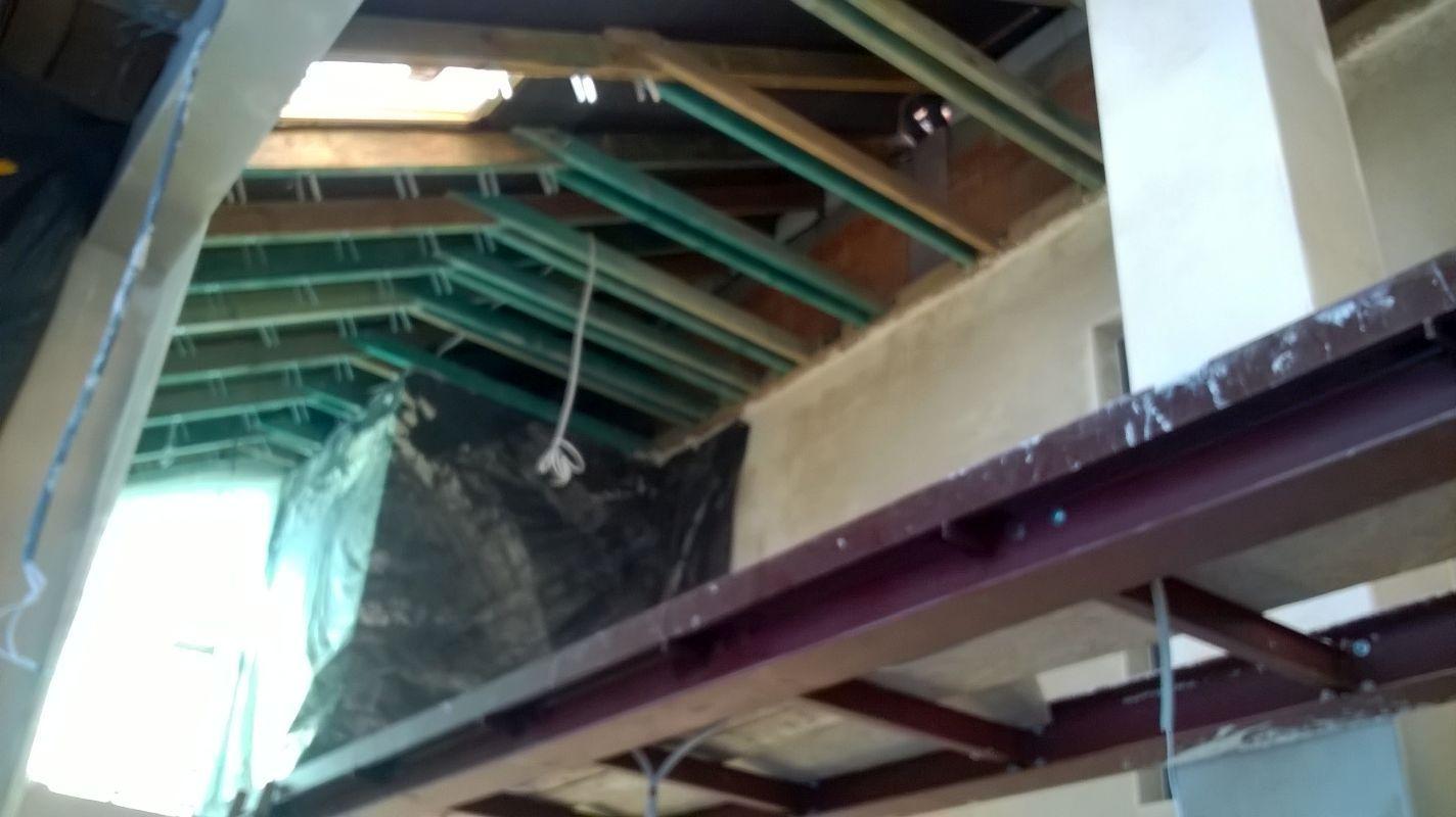 Termoizolacja pianką PUR stropów budynku