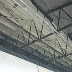 Izolacja pianką poliuretanową stropu