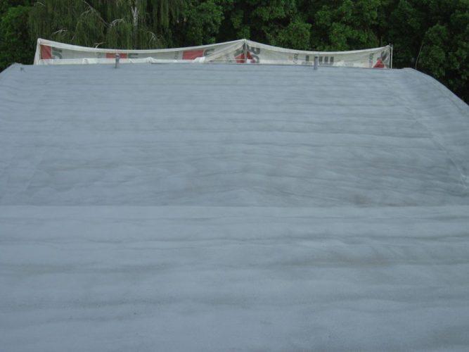 Roofing - termoizolacja pianką PUR - Chatka Żaka w Lublinie