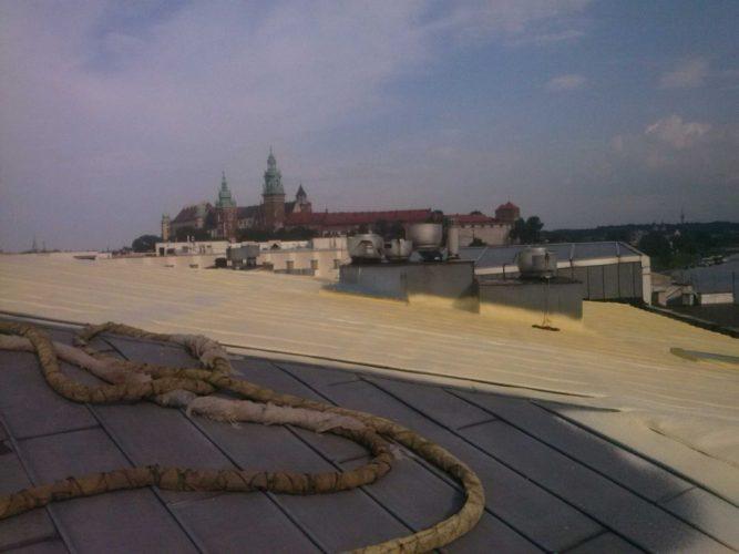 Izolacja dachu pianką poliuretanową - Zwierzyniecka Kraków